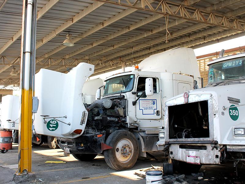 Transportede carga en México