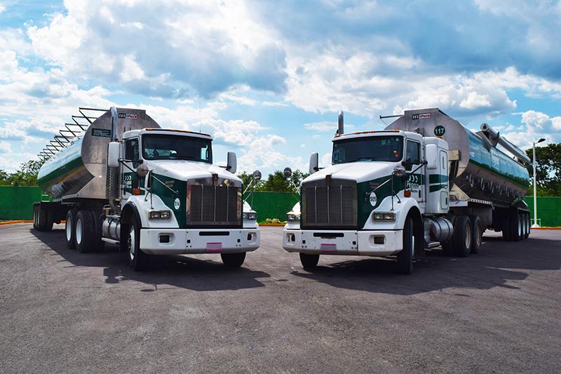 Transporte de carga y logística en México